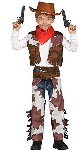 Costume cowboy bambino TAGLIA 5-6 ANNI