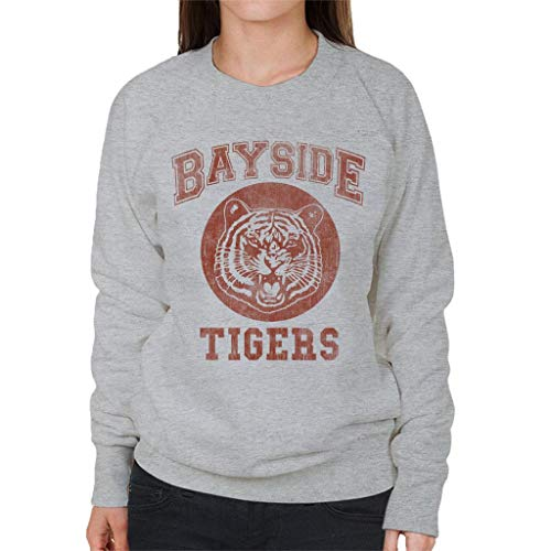 Cloud City 7 Saved by The Bell Inspired Bayside Tigers Women's Sweatshirt -