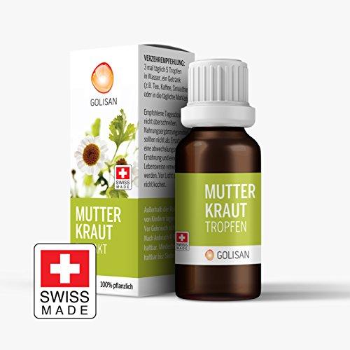 GOLISAN Premium Mutterkraut Extrakt • hochdosiert • Tropfen • 15ml