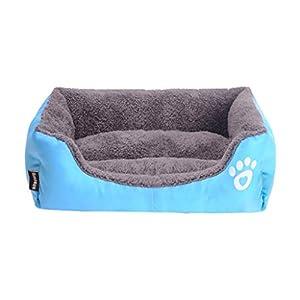 Lit pour chien en mousse à mémoire de forme pour Chenil hiver chaud nid pour animaux de compagnie lavable petit chien moyen quatre saisons chien chenil intérieur chien maison lit pour chat mat litière