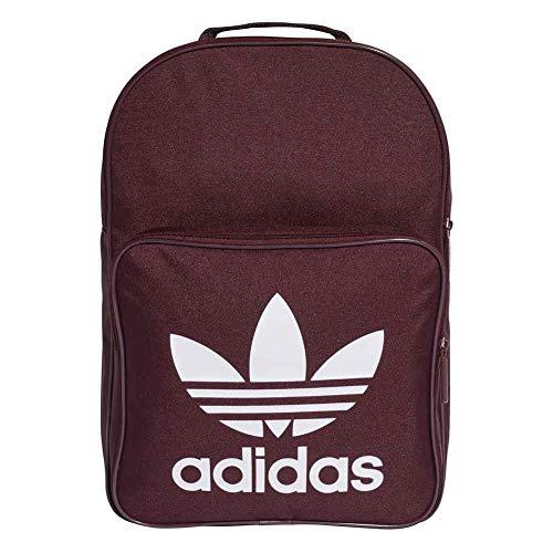 Adidas Bp Clas Trefoil Zaino Casual, 25 cm, liters, Rosso (Granat)