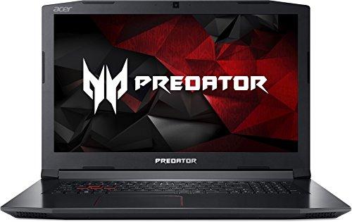 Acer Predator Helios 300 PH317-51-78SZ 43,9cm (17,3 Zoll Full-HD IPS matt) Gaming Notebook (Intel Core i7-7700HQ, 16GB RAM, 512GB PCIe SSD, GTX 1060 (6GB), HDMI, Win 10) schwarz