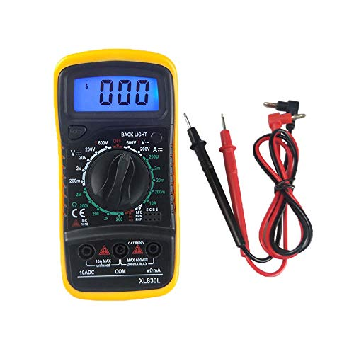Multimeter Messgeräte Digitales Voltmeter Amperemeter Ohmmeter, Akustischer Durchgangsprüfer , AC / DC Multi Tester Spannung, Strom, Widerstand Digital-multimeter Tester