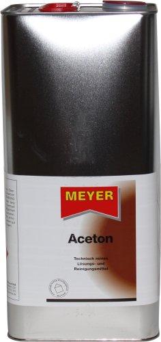 Meyer Aceton - 6 Liter Blechkanister