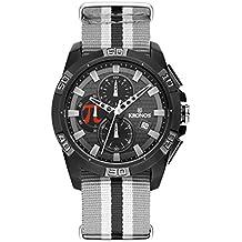 Kronos - Josef Ajram Limited Edition 934.55JA - Reloj de Caballero de Cuarzo, Correa de Caucho, Color Esfera: Gris