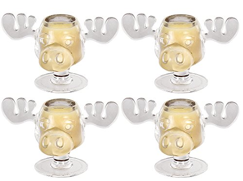 ristmas Vacation Walley World Moose Head Shot Glasses by ICUP ()
