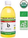 250 ml Olio di Argan BIO 100% Puro Prima Pressione a Freddo per Pelle e Capelli - Originale dal Marocco