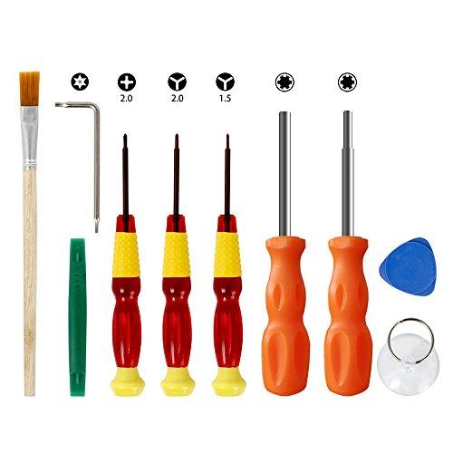 UpChoice Schraubendreher Set für Nintendo. Maexus Produkte Tool Kit für Nintendo Switch/DS/DS Lite/Wii/GBA und andere Nintendo Produkte - Nintendo-ds-tool-kit