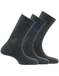 Kindy Pack 3 paires de mi-chaussettes en coton
