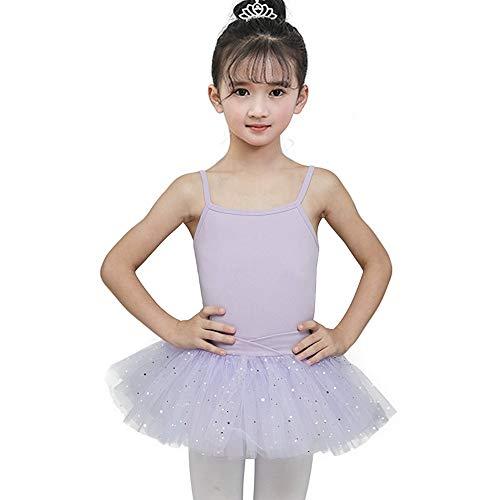 Mädchen Trikot Kleid Ballett/Tanz/Gymnastik Tutu Rock Dancewear Kostüm Gymnastik Trikot Rock für Jugendliche Frauen Rosa Lila Schwarz Mit Spitze