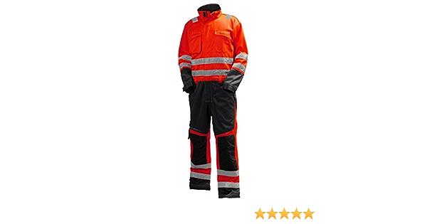 Helly Hansen Workwear 34 077610 169 C44 Warnschutz Overall Alna Helly Hansen Rot Kohle C44 Gewerbe Industrie Wissenschaft
