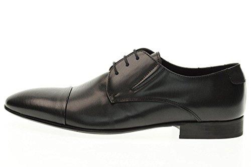 EVEET scarpe uomo stringate 16521 NERO Nero