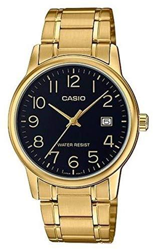 Casio MTP-V002G-1B Montre à Bracelet pour Homme