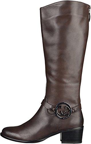 Gerry Weber Shoes Dany 02 Damen Langschaft Schlupfstiefel Dunkelbraun