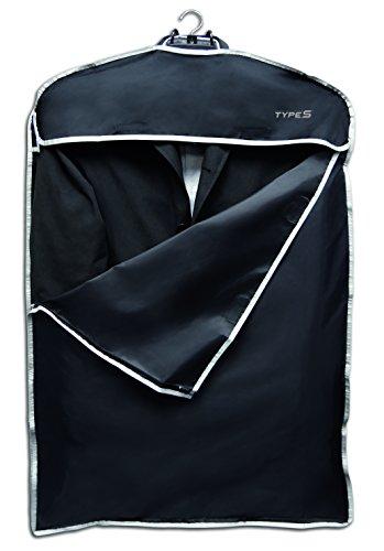 Kfz-Kleiderbügel mit Kleiderschutzhülle (schwarz) und Haltegriff-Aufhängung