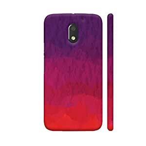 Colorpur iPhone 7 Cover - Abstract Shades Of Red Printed Back Case