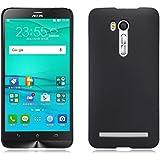 """TopAce® High Quality Hard Cover Caso + Protector de pantalla para Asus Zenfone Go ZB500KL 5"""" (Negro)"""