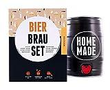 Bierbrauset Zum Selber Brauen - Festbier im 5 Liter Fass - In 7 Tagen fertig - Perfektes Geschenk für den Freund oder den Vater