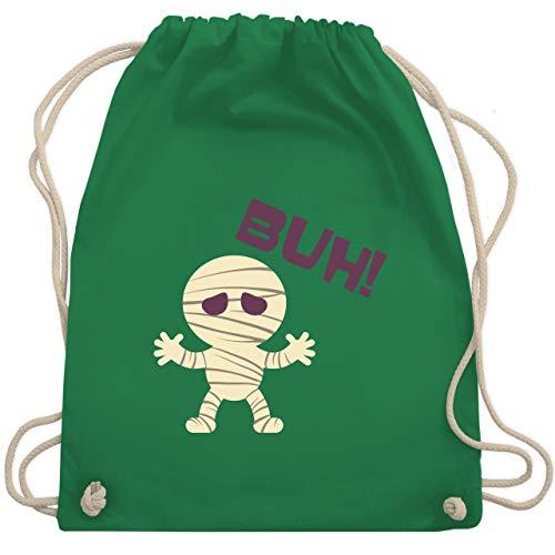 Halloween - Mumie Buh süß - Unisize - Grün - WM110 - Turnbeutel & Gym Bag (Süße Mumie Kostüm)