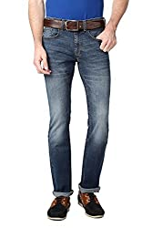 Peter England Regular Fit Jeans _JDN31604357_34_Blue