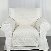 Douceur D'Intérieur  - 1605234, Protector De Sillon Acolchado , 165 X 179 Cm , Club , Microfibra Liso , Beige