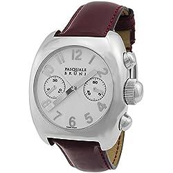 Pasquale Bruni Uomo Chronograph Edelstahl Swiss Made Automatik Herren-Armbanduhr 01mca1bord
