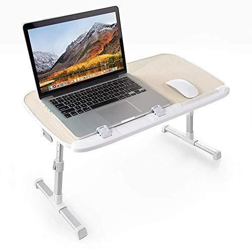 TaoTronics Laptoptisch Tragbarer Klappbarer Winkel Verstellbarer Schreibtisch Höhenverstellbarer...