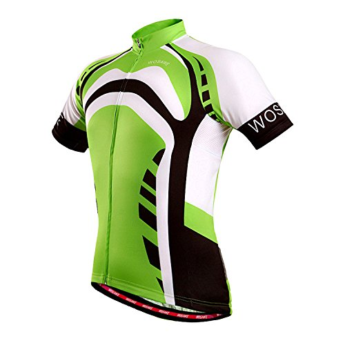 czup-mens-outdoor-cycling-jerseys-summer-short-sleeve-breathable-top-up-d265-green-giant-xl