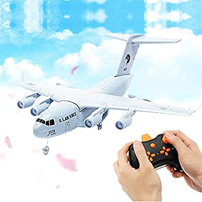 Anyutai Drop-resistant foam fight plane drone DIY fixed wing 3-axis flight aircraft children's toy gift