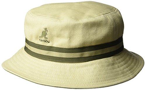 Imagen de kangol stripe lahinch gorro de pescador, beige, large para hombre