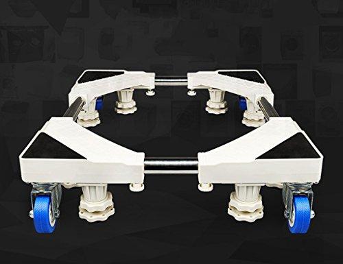 Qiangzi Einstellbare Basisständer Wheels Moveable Spezielle Base Für Haushaltsgeräte White Appliance Roller Base Badezimmer Küche Für Badezimmer Küche ( größe : 8 feet 4 wheel ) (Küche Roller Wagen)