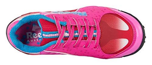 Reece Wave Feld Hockey Schuhe pink-rot Kinder pink-rot