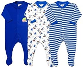Bubbles NammaBaby Multi Color Romper Body Suite for New Born Baby (Pack of 3) (3-6 Months)