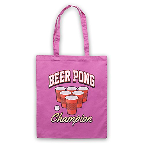 Beer Pong Champion borsa custodia Rosa