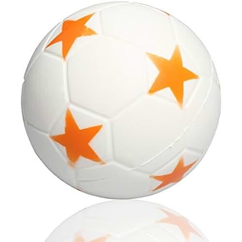 juguetes kawaii InnoBase Fútbol Juguetes Squishy 9 cm Slow Rising Descompresión Antiestrés Soft Squeeze Compresivos Kawaii Juguete de Compresión Regalo Para niños y adultos (Naranja)