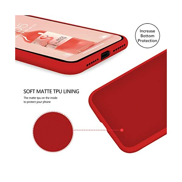 Oihxse Compatible with Huawei P20 Case 3 Pieces with Fashion Design, Soft TPU Bumper Ultra-Thin [Wireless Charging] Back Cover, [Anti-fingerprint] [Non-Fade] Red Matte Finish Skin Shell(4) Oihxse 🦜【Ultra-Thin & Slim Fit】3pcs Ultra-Slim design snugly fit for your Huawei P20 to bring [Sleek Look], [Stylish Charming] and [Great in-hand Feeling] due to the process with matte finish compliment with fashion pattern on the mobile phone case back-red colour. 🦜【Support Wireless Charge】With precision cutouts of the Huawei P20, you can easy access to headphone jack, charger port, key mute, speakers, audio ports and buttons without the interference of [WiFi Reception], [Signal Reception], [Wireless Charging Performance], etc. 🦜【Anti-Fingerprint & Non-Fade Material】Crafted with soft anti-yellowing and non-fade TPU material with red frosted finish to provide you fingerprint resistant, anti-slip, daily scratches, bumps, drops and other daily damages. 3