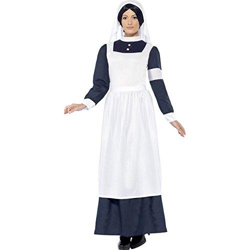 Smiffys Damen Kostm Belle Époque Krankenschwester Karneval Fasching Gr.S