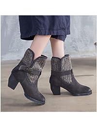 Mujer Para 34 es Hebillas Metalicas Amazon Zapatos WywRYzqR0