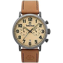 c396fcfefb35 Timberland Reloj Análogo clásico para Hombre de Cuarzo con Correa en Cuero  TBL.15405JSQS