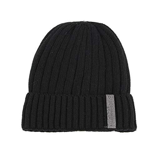HAOLIEQUAN Hiver Casual Hip Hop Bonnets Hommes Tricoté Chapeaux Chapeau Masque Bonnet Chaud Baggy Chapeaux d'hiver pour Hommes Femmes Bonnets Chapeau
