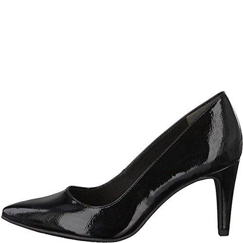 Tamaris 1-22447-21 Damen Schuhe Lack Pumps High Heels, Schuhgröße:39, Farbe:Schwarz
