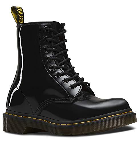 Dr. Martens Damen 1460 Paten Boots, Schwarz (Black), 36