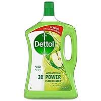ديتول منظف متعدد الاستخدامات ، برائحة التفاح الأخضر ، حجم 3 لتر