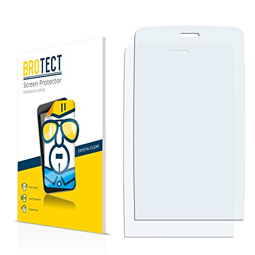 BROTECT für Nokia Asha 309 Schutzfolie [2er Pack] - klare Displayschutzfolie, Crystal-Clear