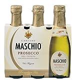 Maschio Prosecco Vino Frizzante Treviso D.O.C., 3er Packung, Baby - 0.6L