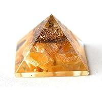 Reiki Healing Energy Charged Yellow Jade Crystal Chip Orgone Pyramid (approx 2 x 2 x 2 cm) by Krystal Gifts UK preisvergleich bei billige-tabletten.eu