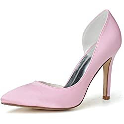 Sarahbridal , Damen Pumps Pink rose