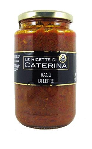 Ragù di Lepre a lenta cottura - Migliori ragù Gambero Rosso (500 g)