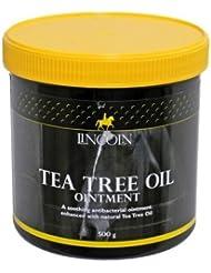 Lincoln Pommade à l'huile d'arbre à thé 500 g Contient de l'huile d'arbre à thé traditionnel et de fleurs de soufre