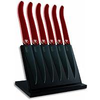 Laguiole Evolution 448240 - Blocco magnetico con 6 coltelli da